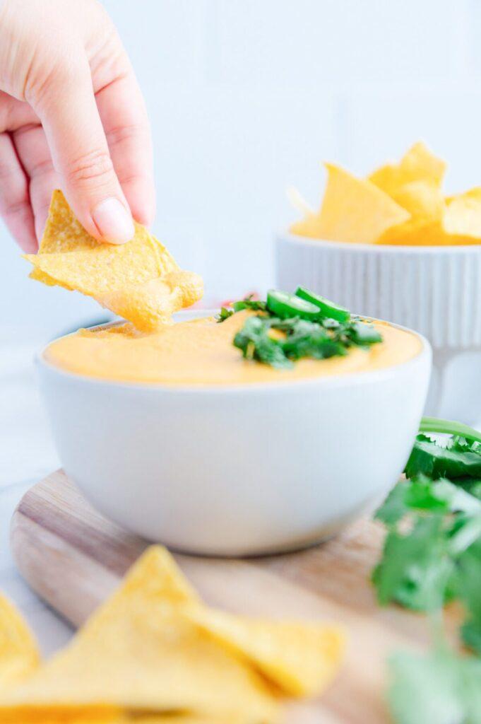 Dairy-Free Nacho Cheese