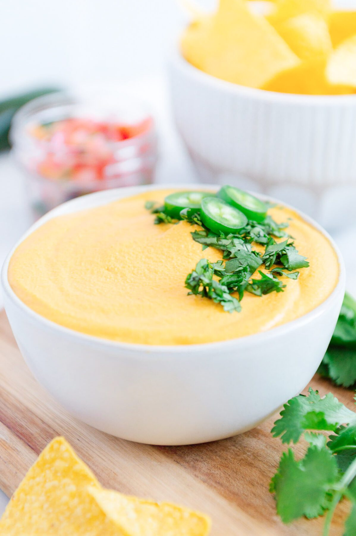 Vegan Nacho Cheese Dip