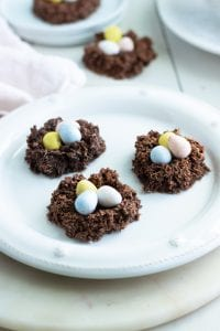 Easter Egg Nest Cookies