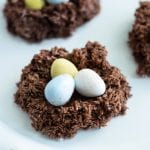 No-Bake Easter Nest Cookies
