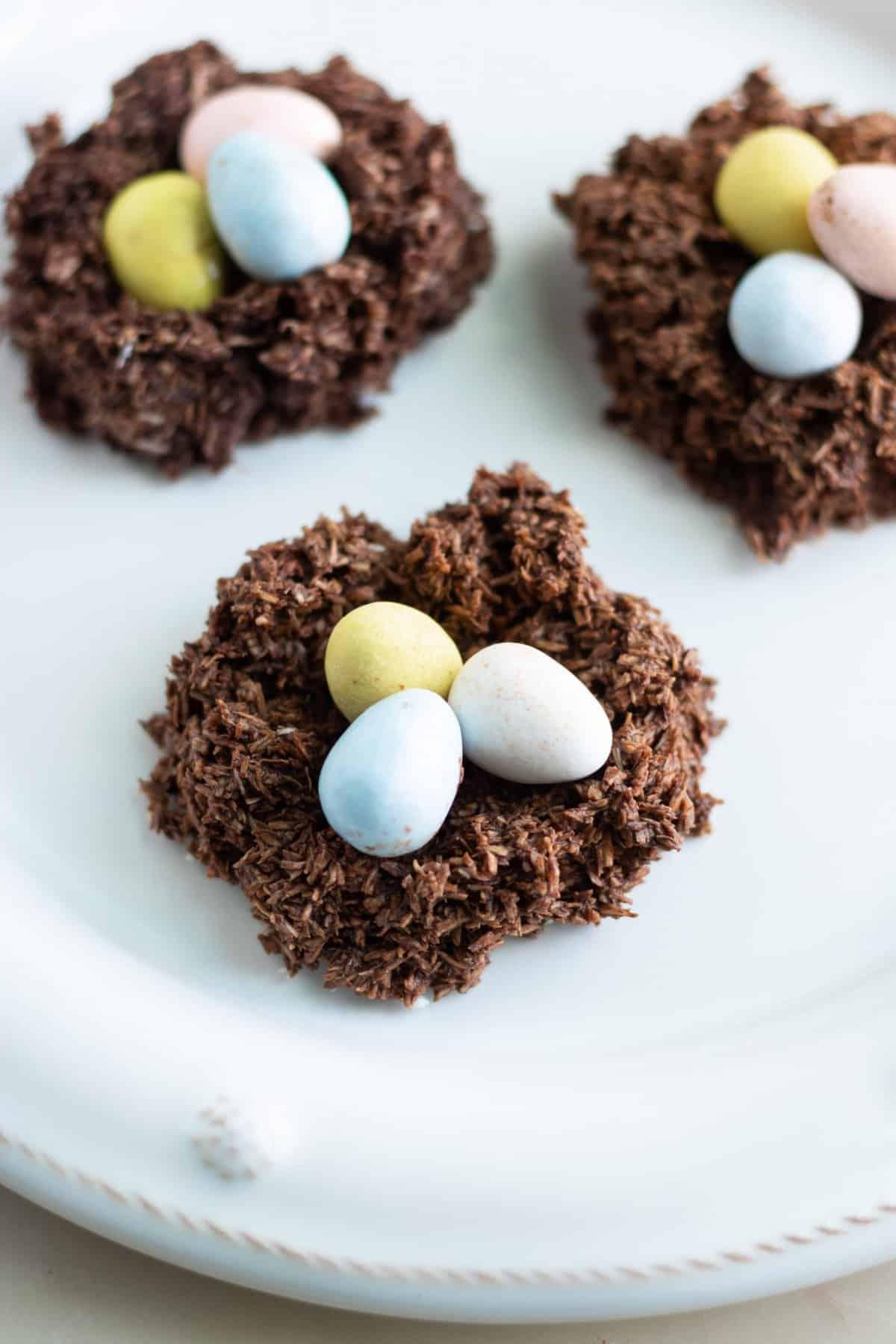 Vegan Easter Egg Cookies