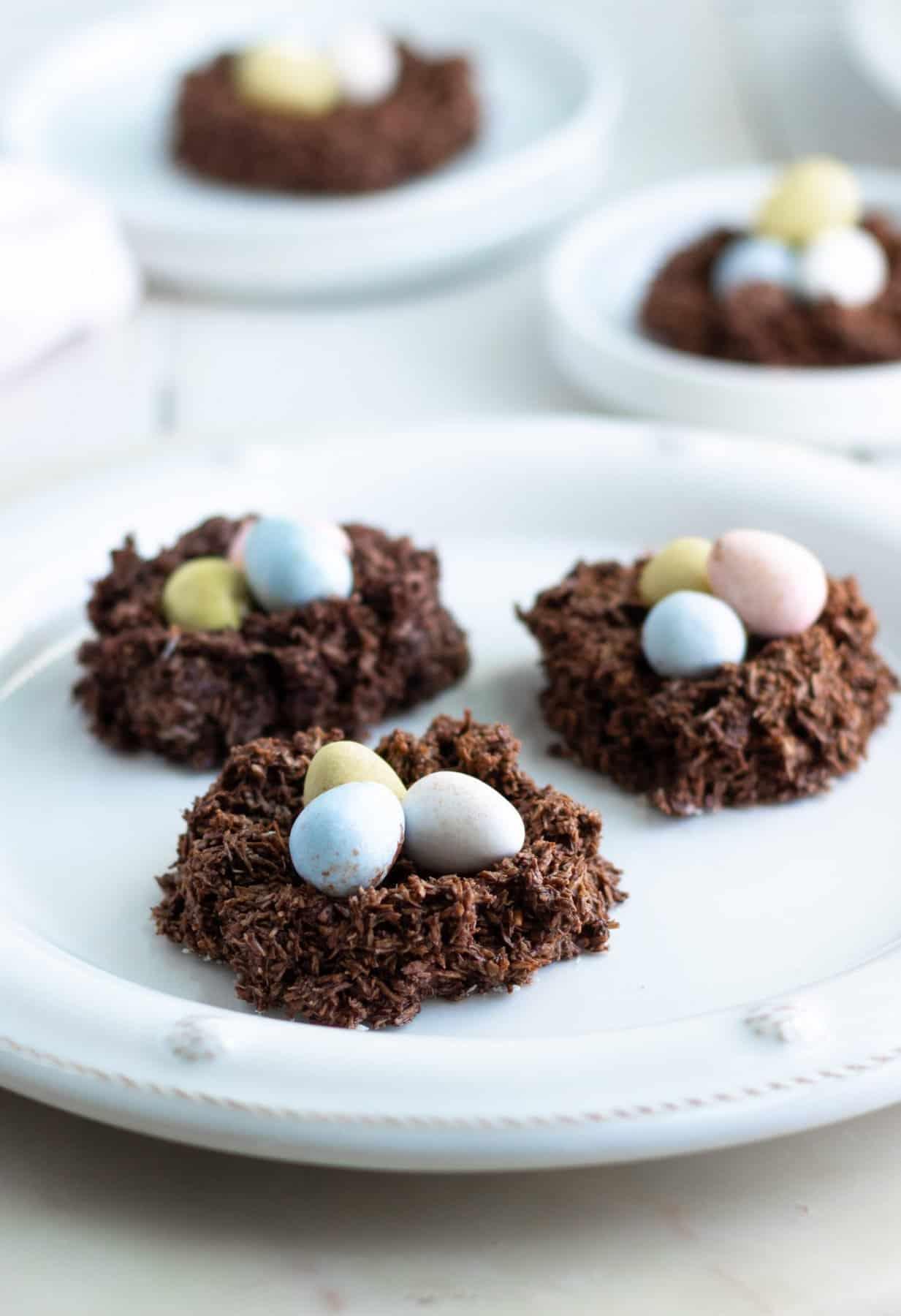 Easy Vegan Nest Cookies