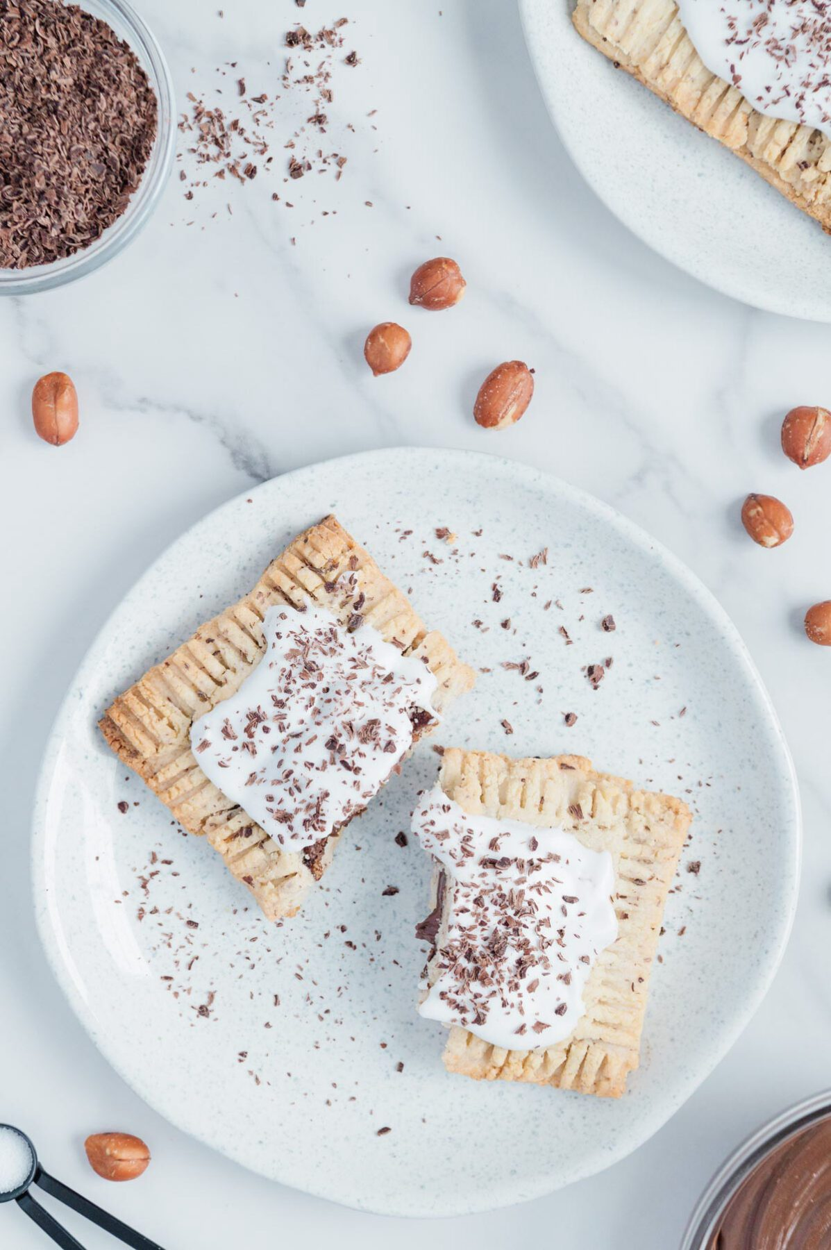 Vegan Nutella Toaster Pastries