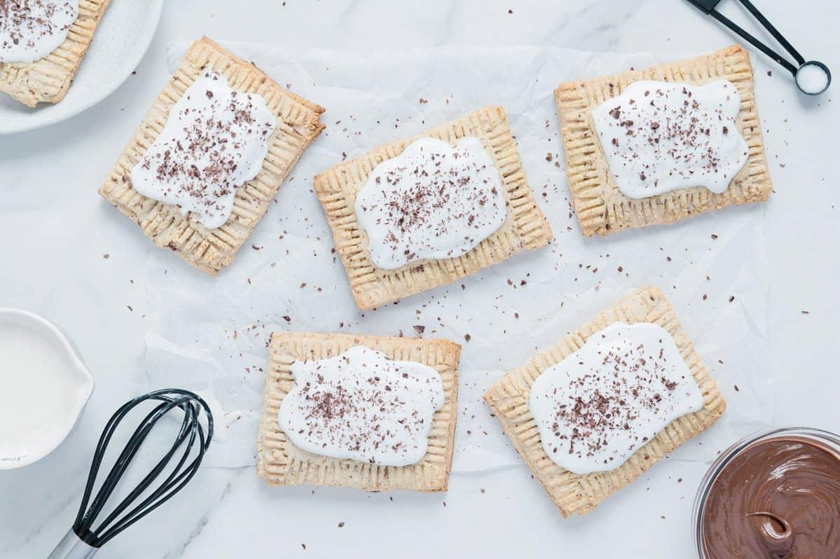 Chocolate Hazelnut Toaster Pastries