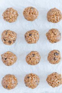 No-Bake Vegan Gluten-free Granola Energy Bites