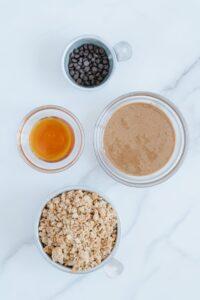 Granola Energy Bite Ingredients