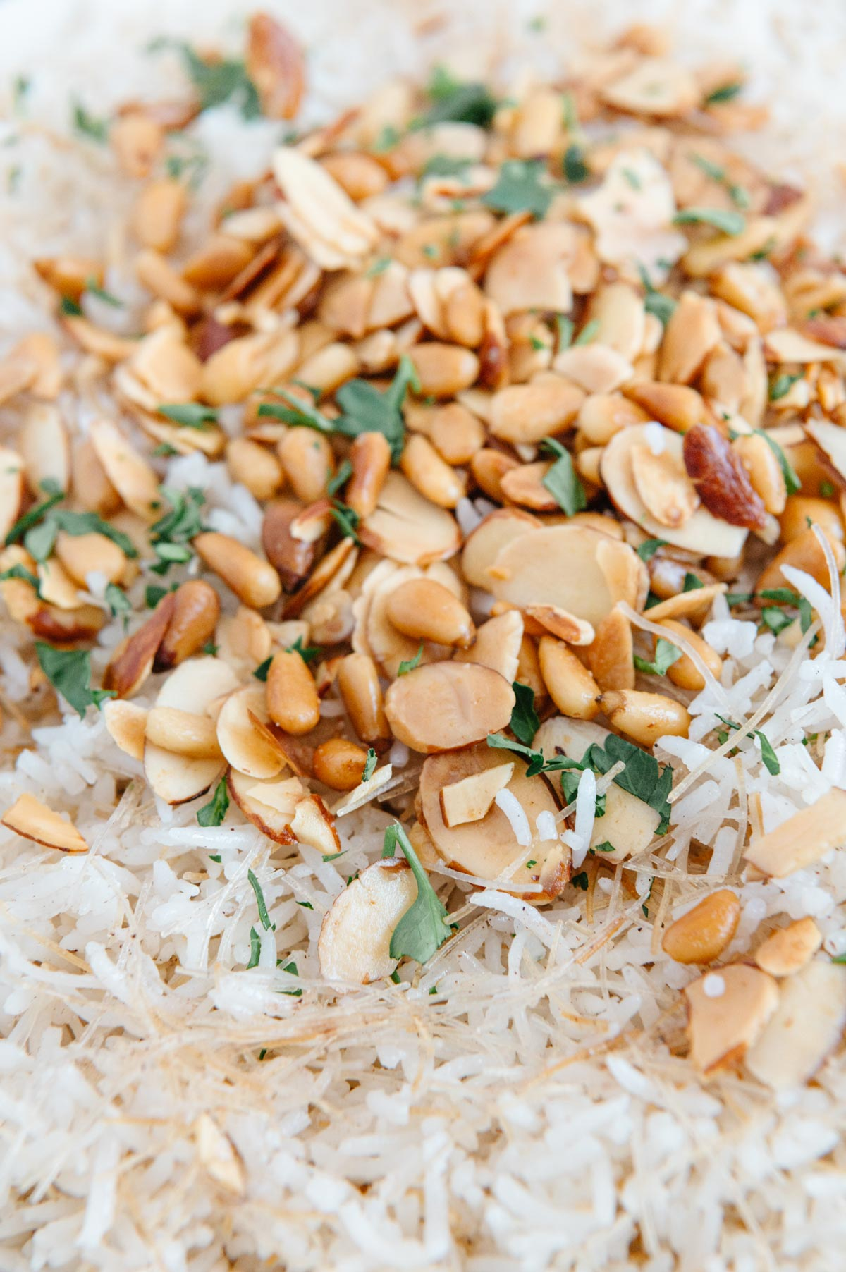 Lebanese Rice with Vermicelli Noodles