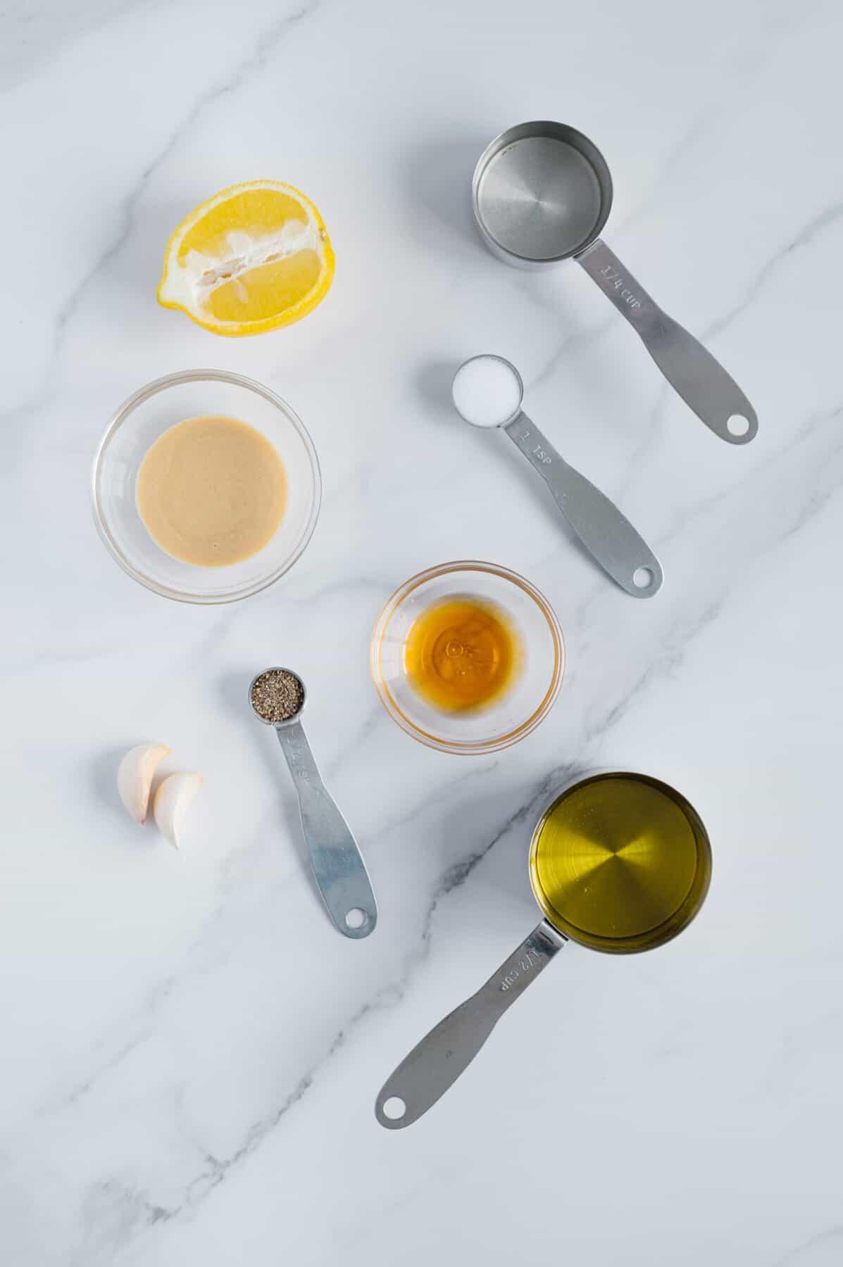 Mediterranean Dressing Ingredients