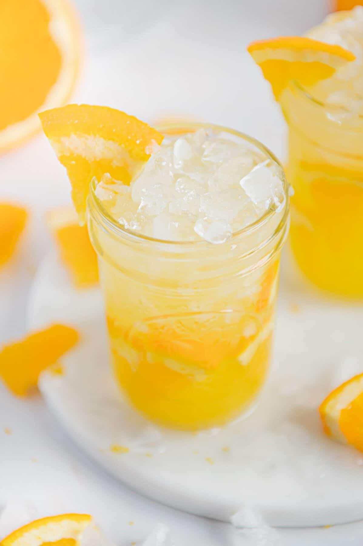 Best Orange Crush Cocktail Recipe [gluten-free + refined sugar-free]