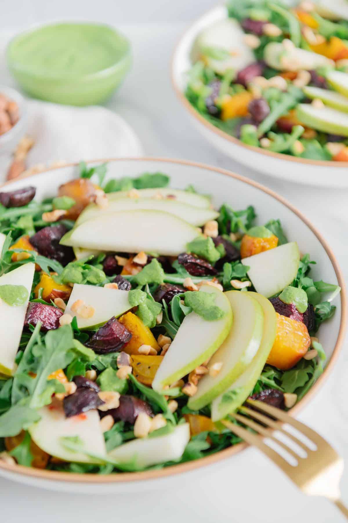Salad with Hazelnuts