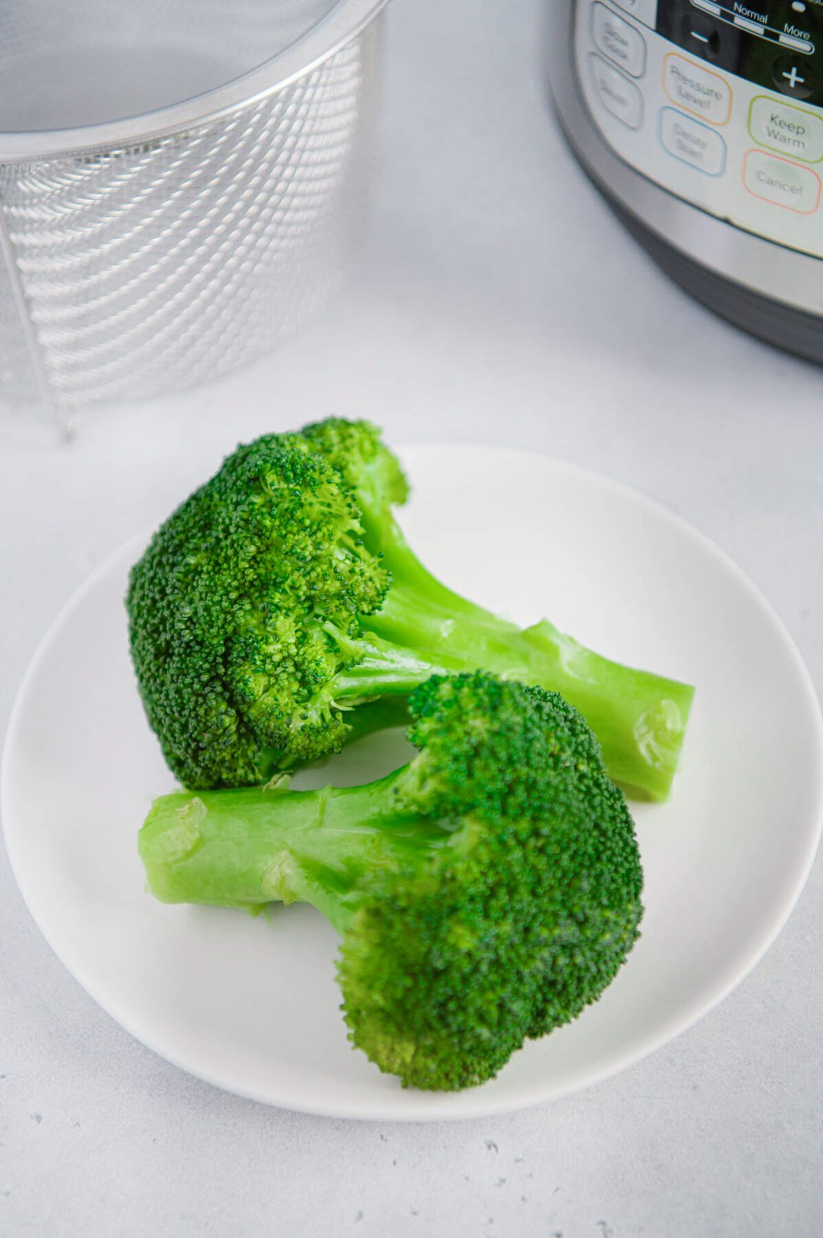 Easy Steamed Broccoli