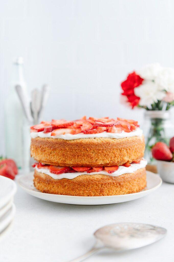 Paleo Strawberry Shortcake