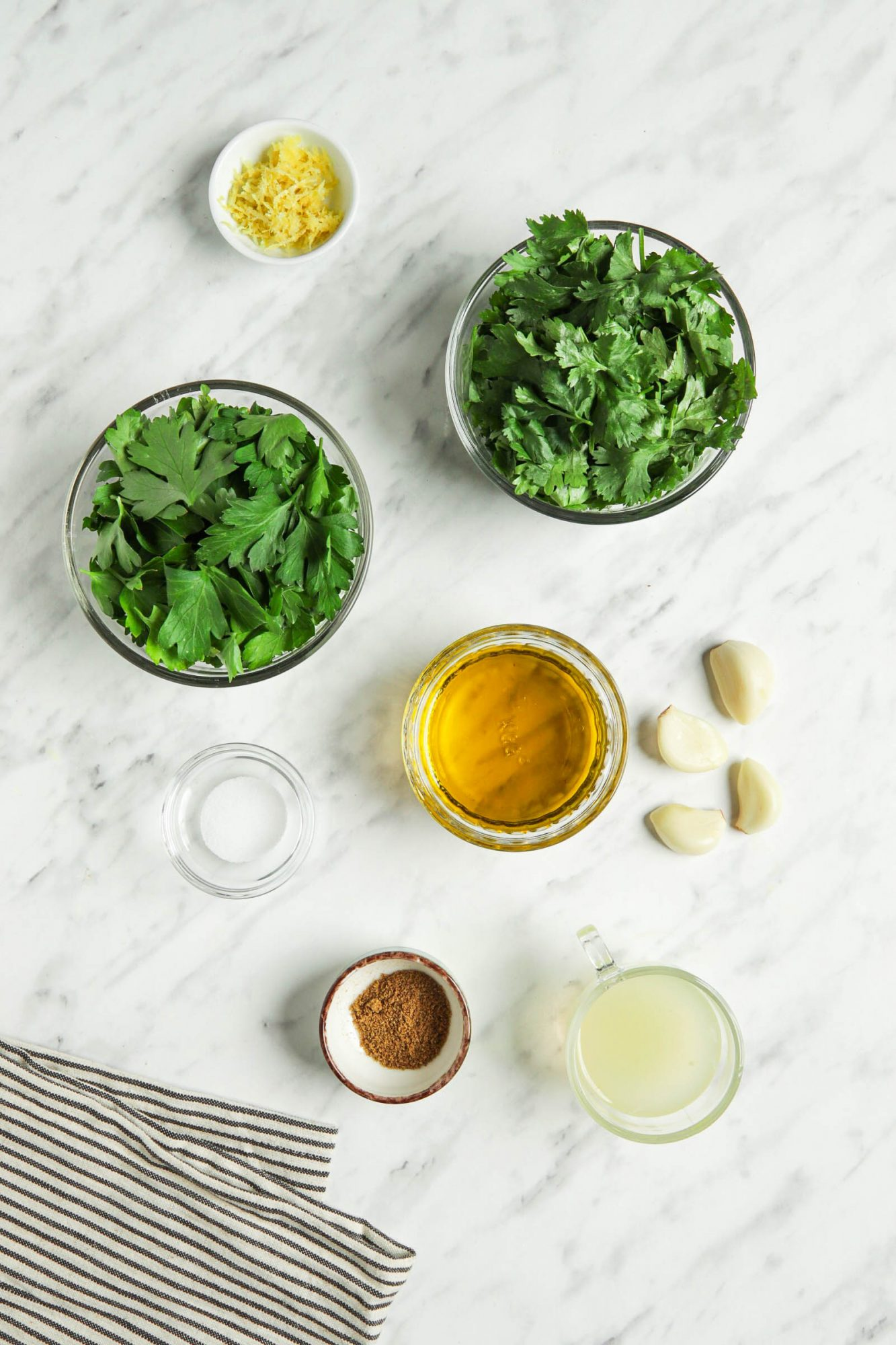 Ingredients in Chermoula Sauce