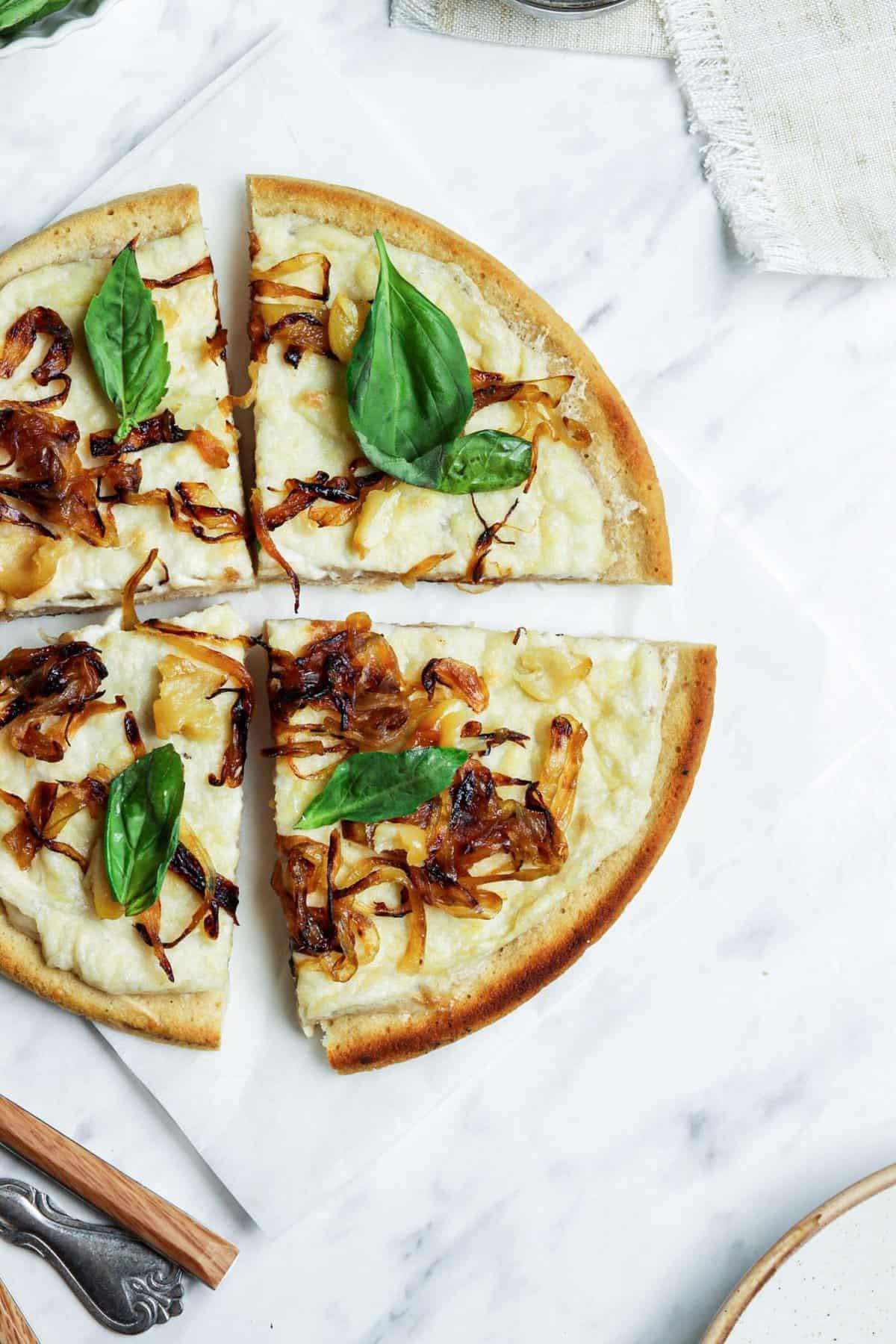 Easy Vegan Pizza