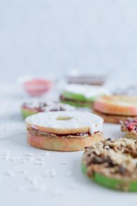 Vegan Apple Sandwiches