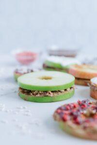 Gluten-Free Apple Ring Sandwiches