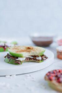 Apple Ring Sandwiches