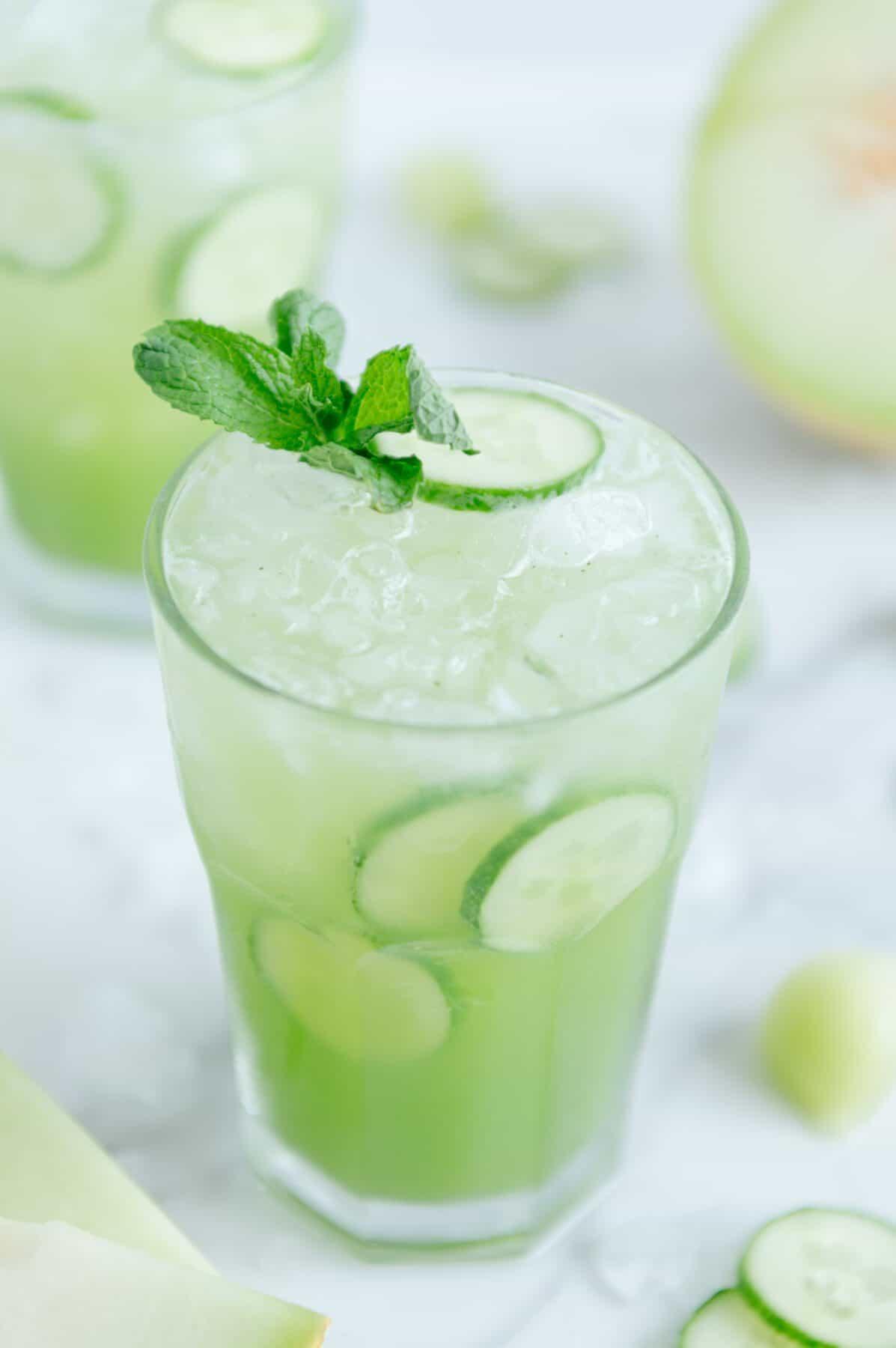 Cucumber Melon Mocktail