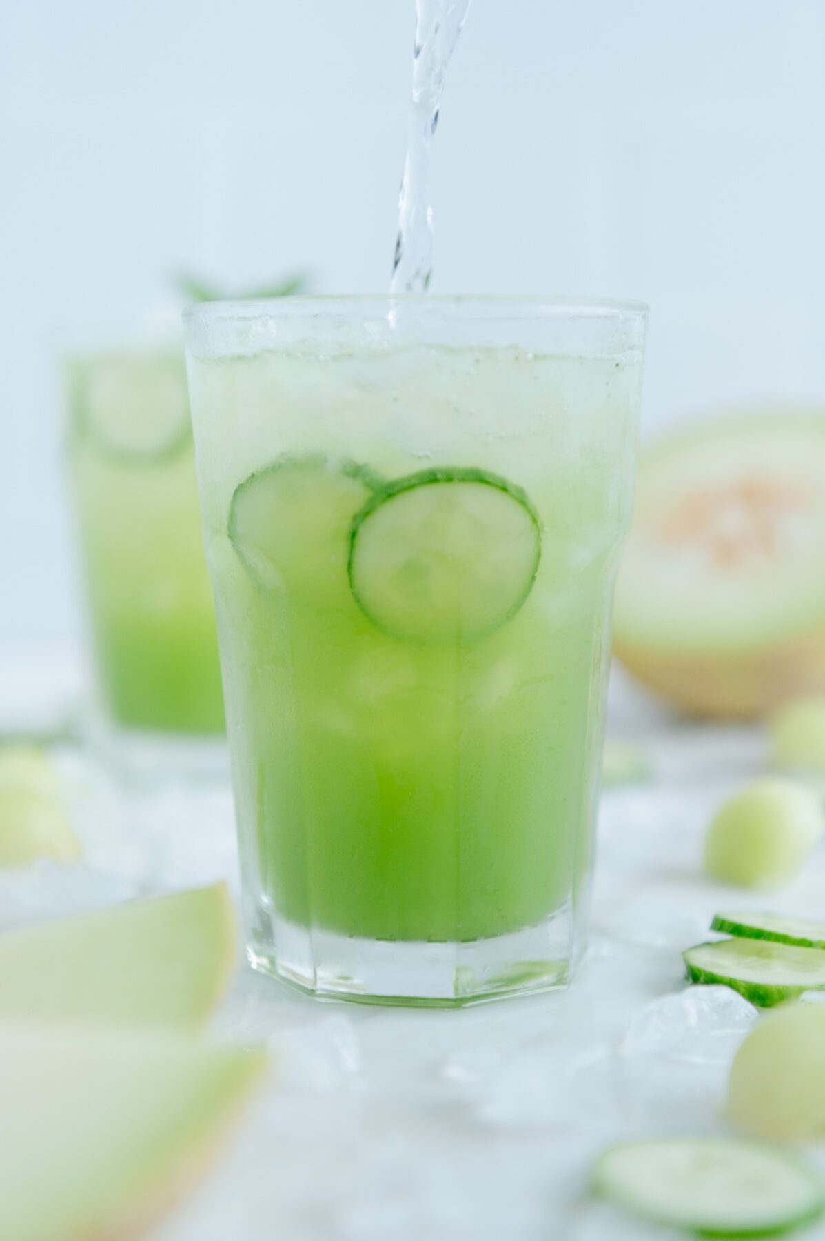 Sugar-Free Melon Spritzer