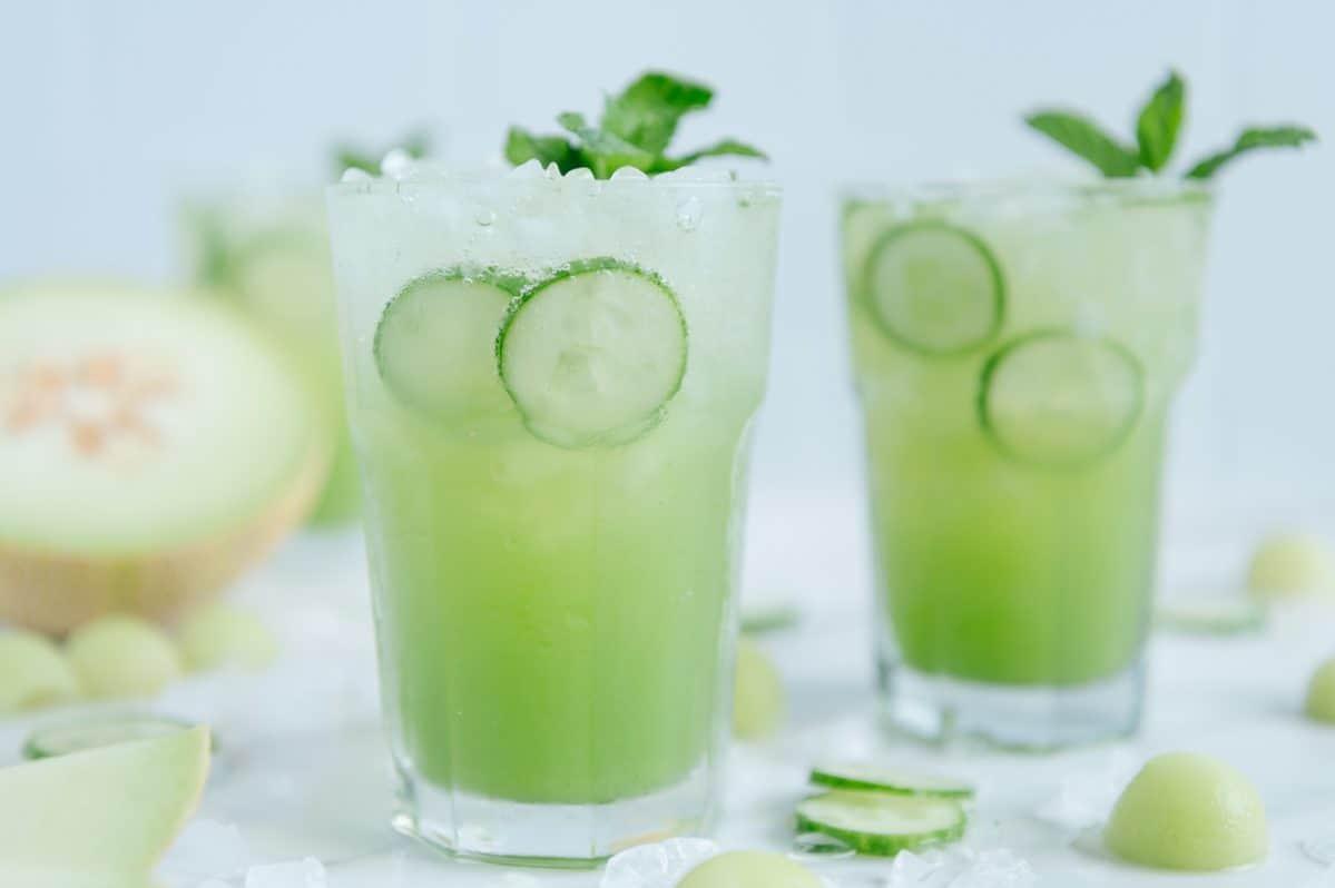 Cucumber Spritzer Mocktail