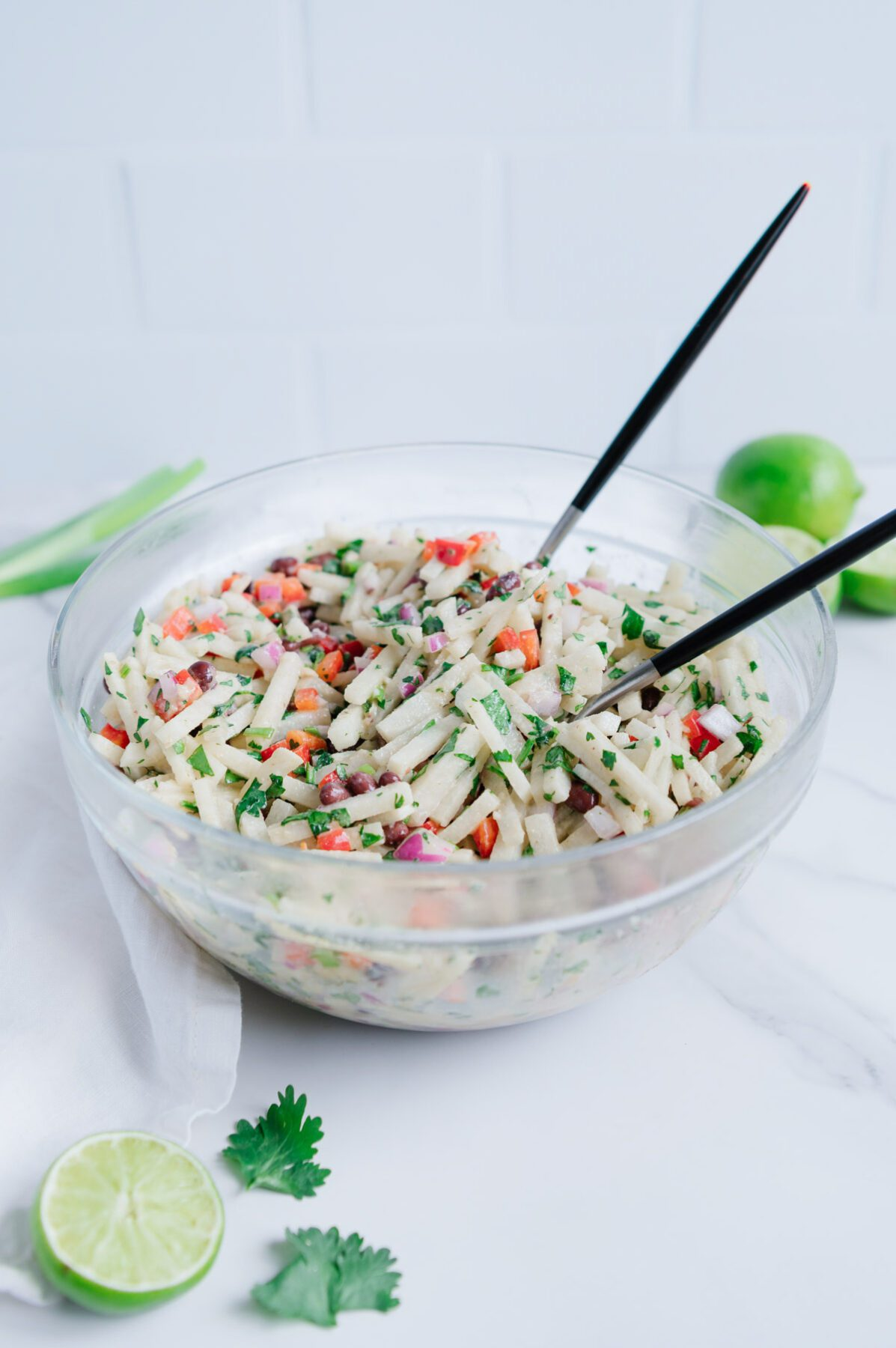 Vegan Jicama Slaw
