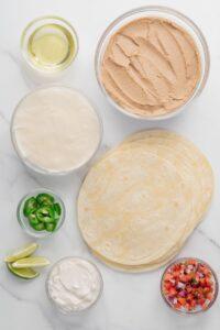 Vegan Baked Taquito Ingredients