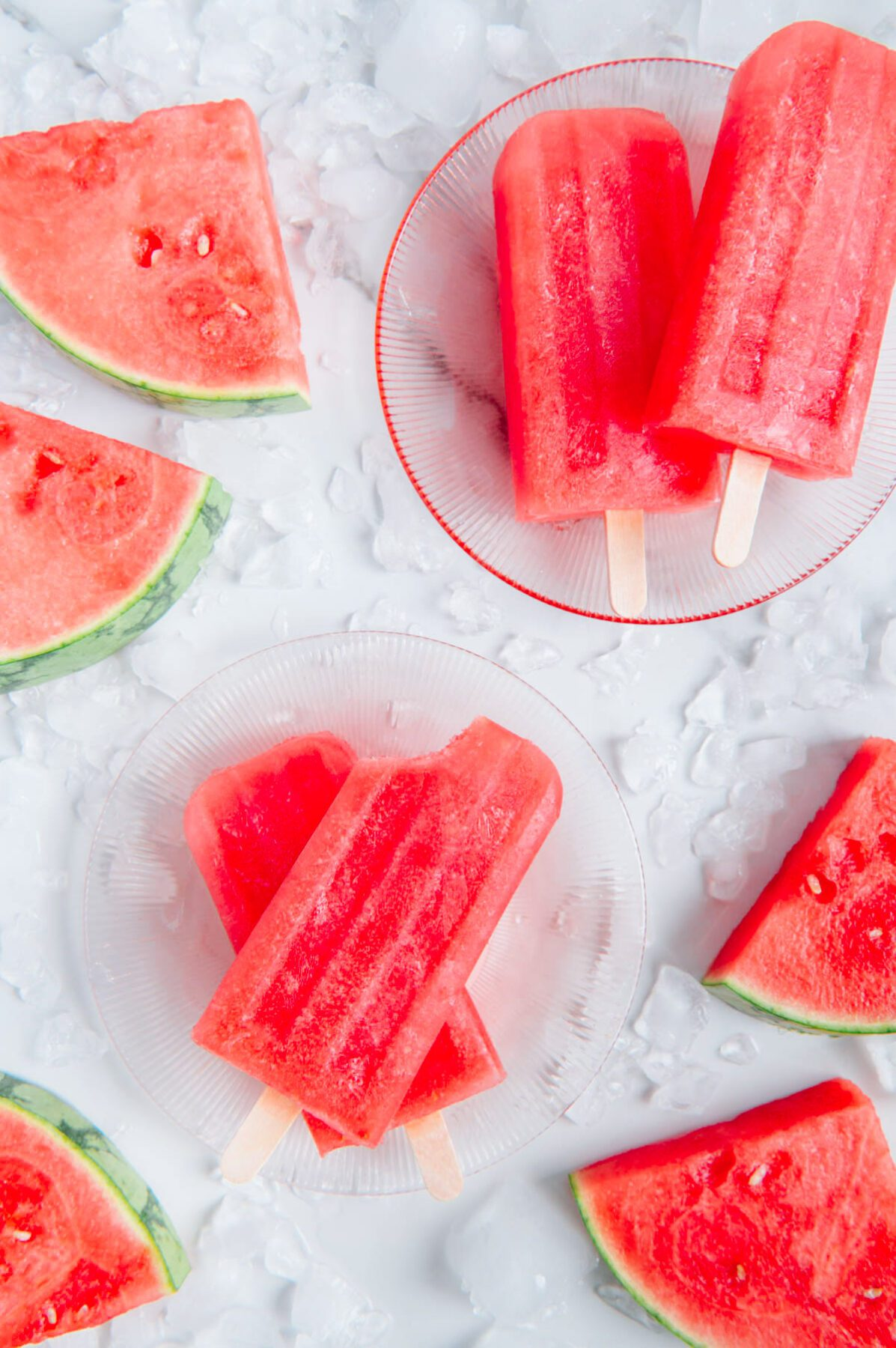 One-Ingredient Watermelon Popsicles
