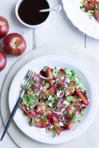 Easy Plumcot Salad Recipe