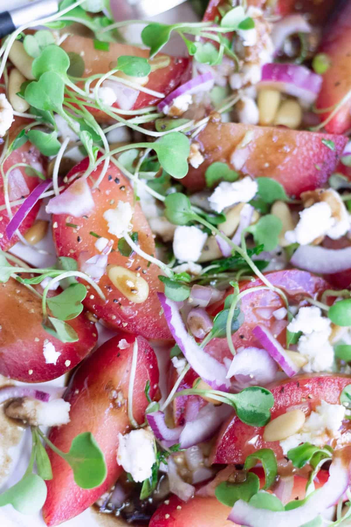 Plumcot Salad