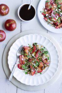 Plumcot Salad Dressing