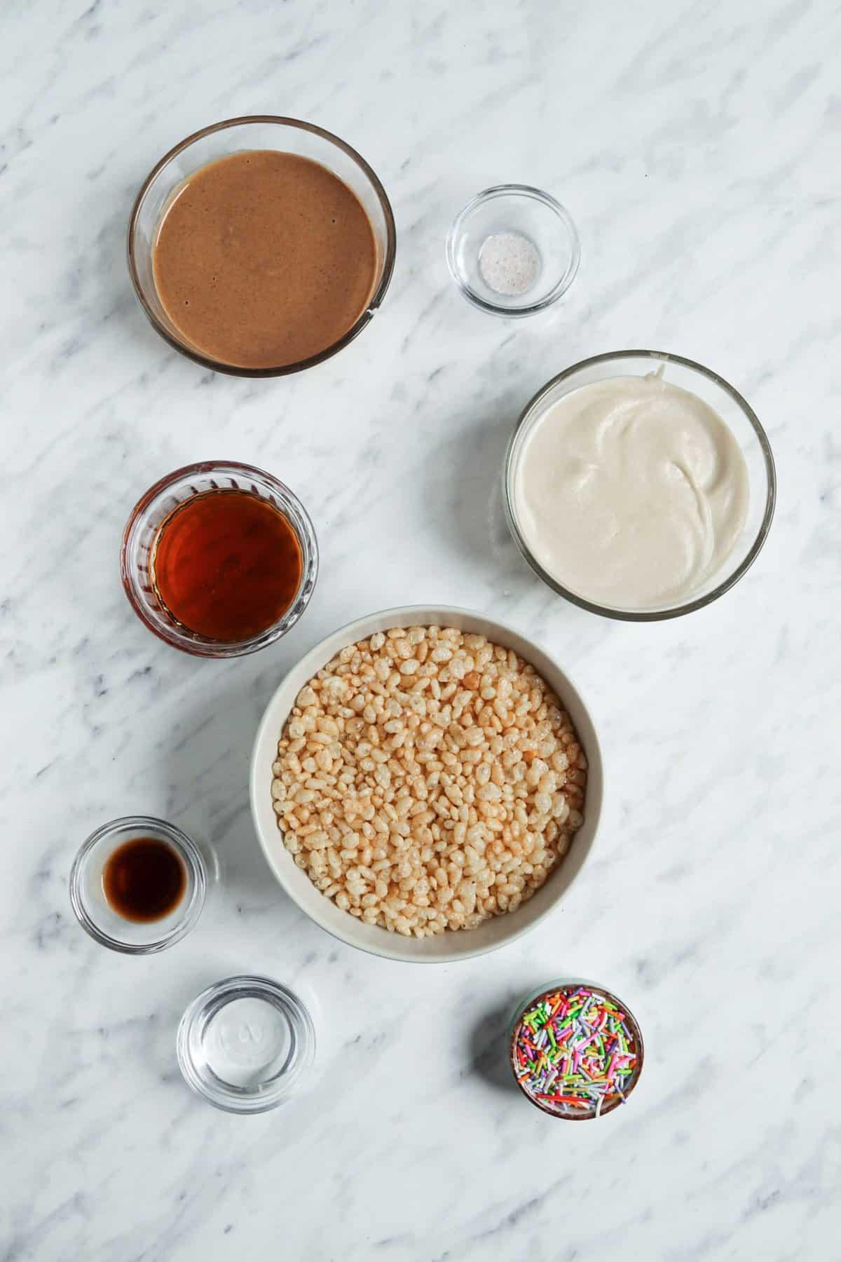 Rice Crispy Treat Ingredients