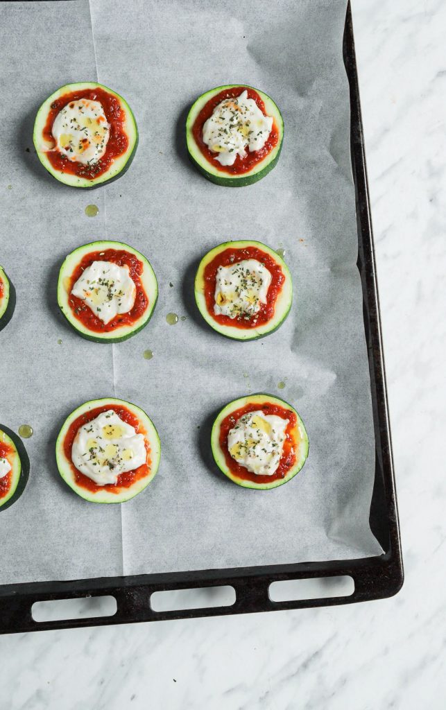 Zucchini Bite Toppings