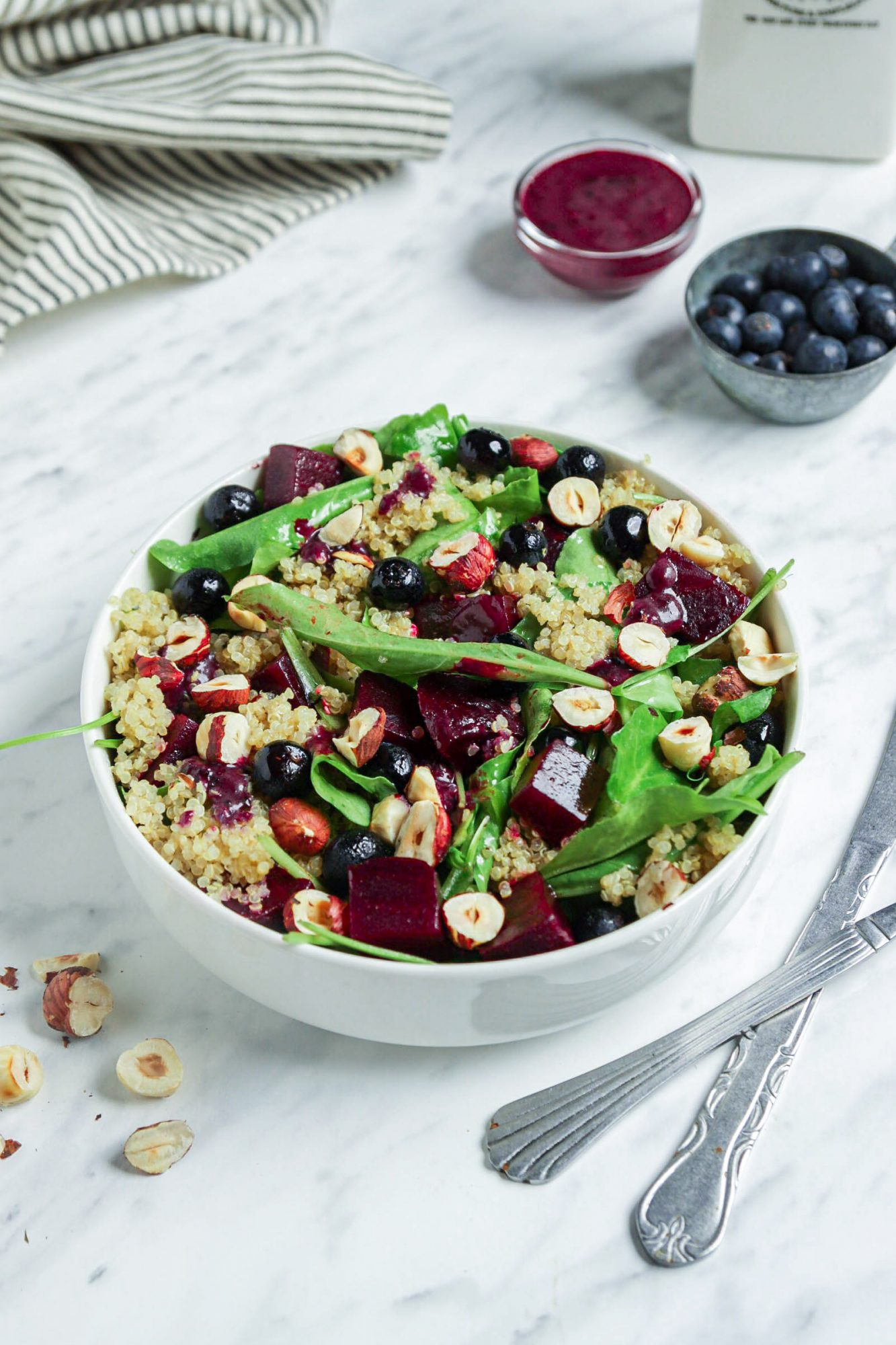 Blueberry and Beet Salad