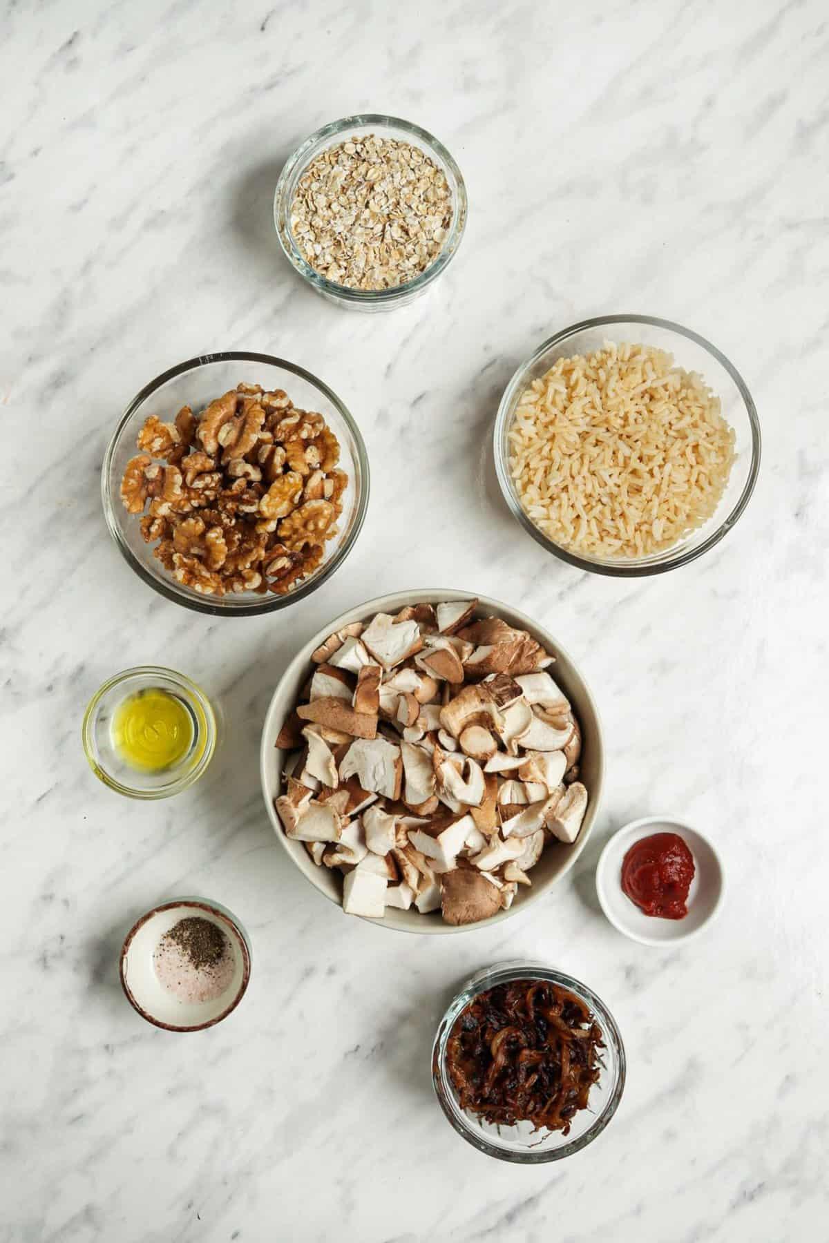 Vegan Meatball Ingredients