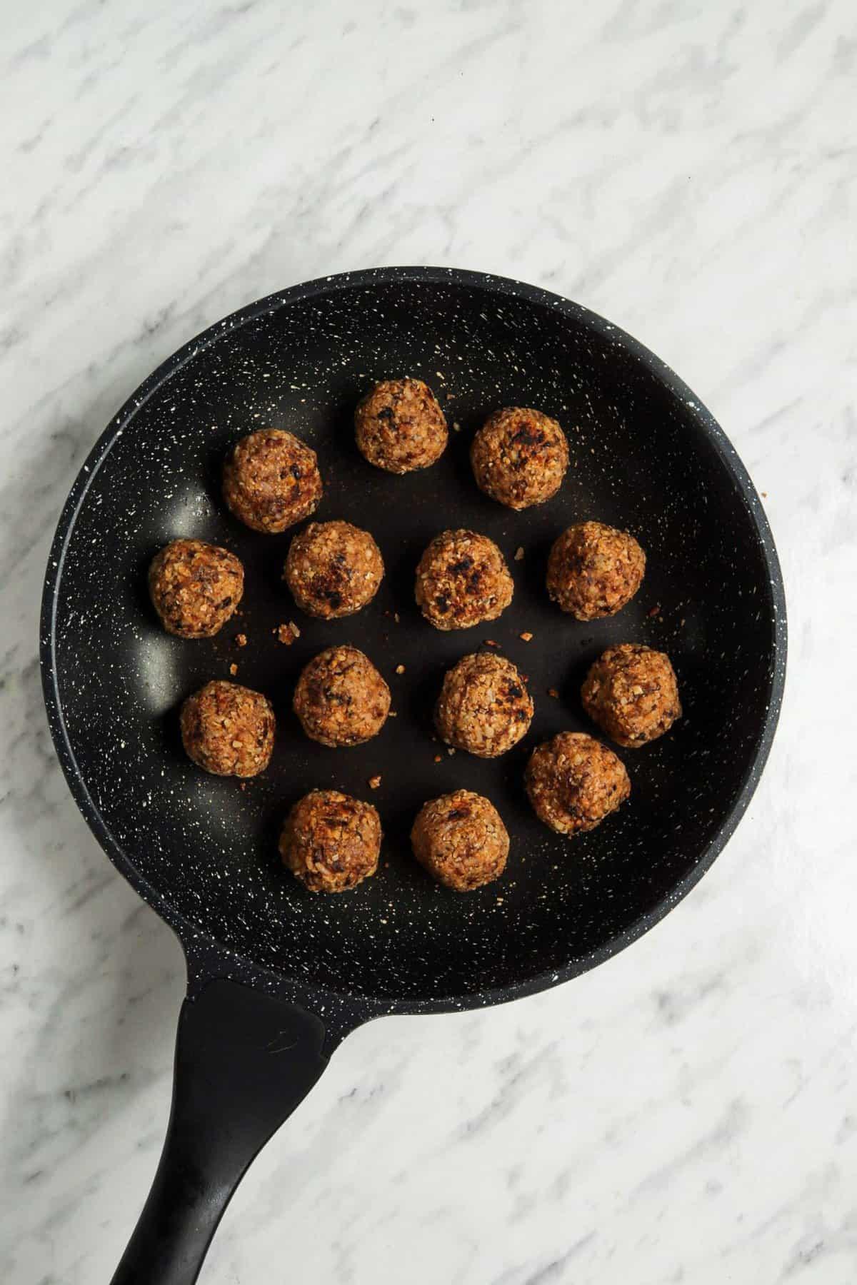 Vegan Italian Meatball Recipe