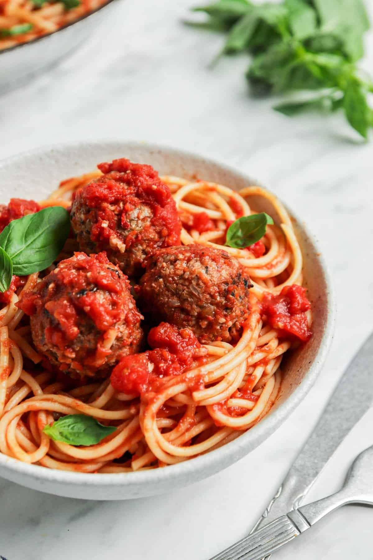 The Best Italian Vegan Meatballs Ever! (gluten-free + soy-free too)