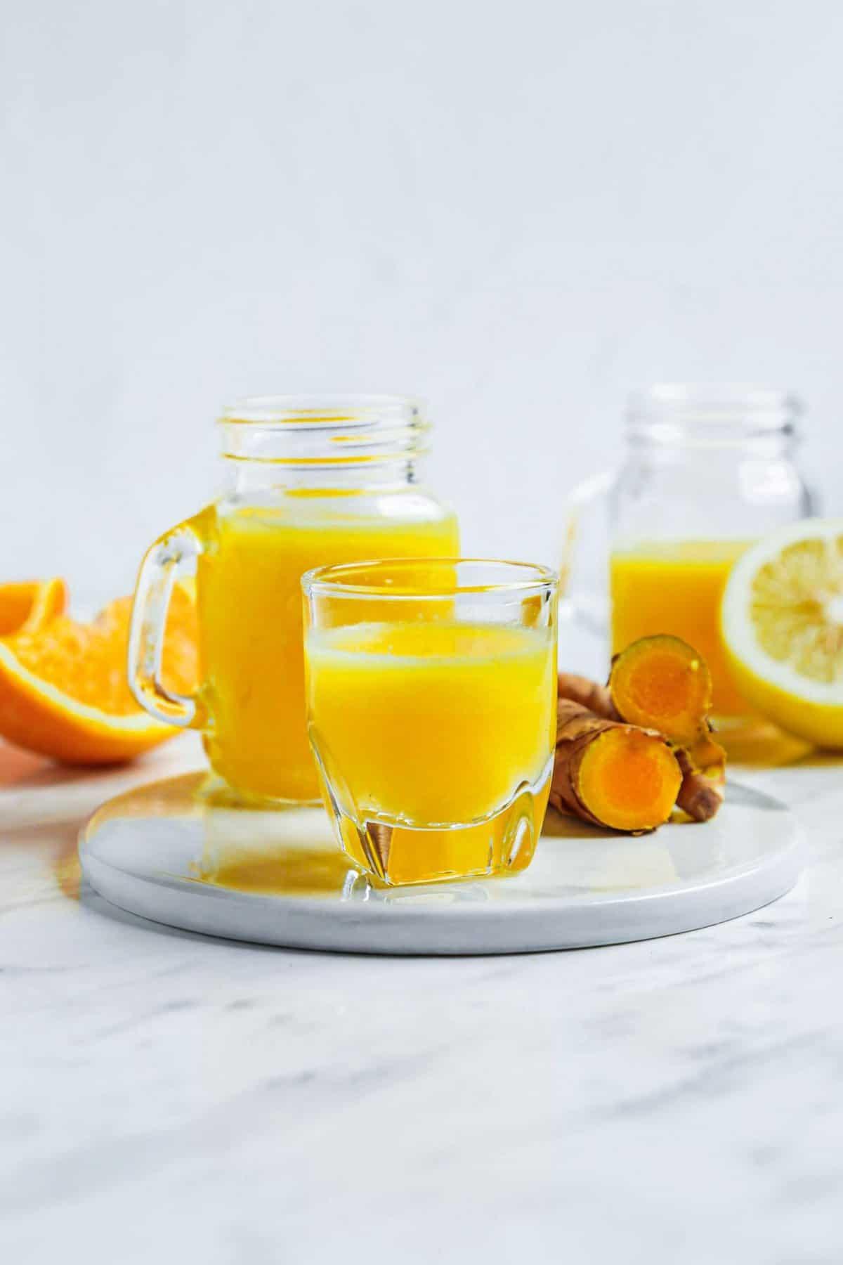 Orange Turmeric Wellness Drink