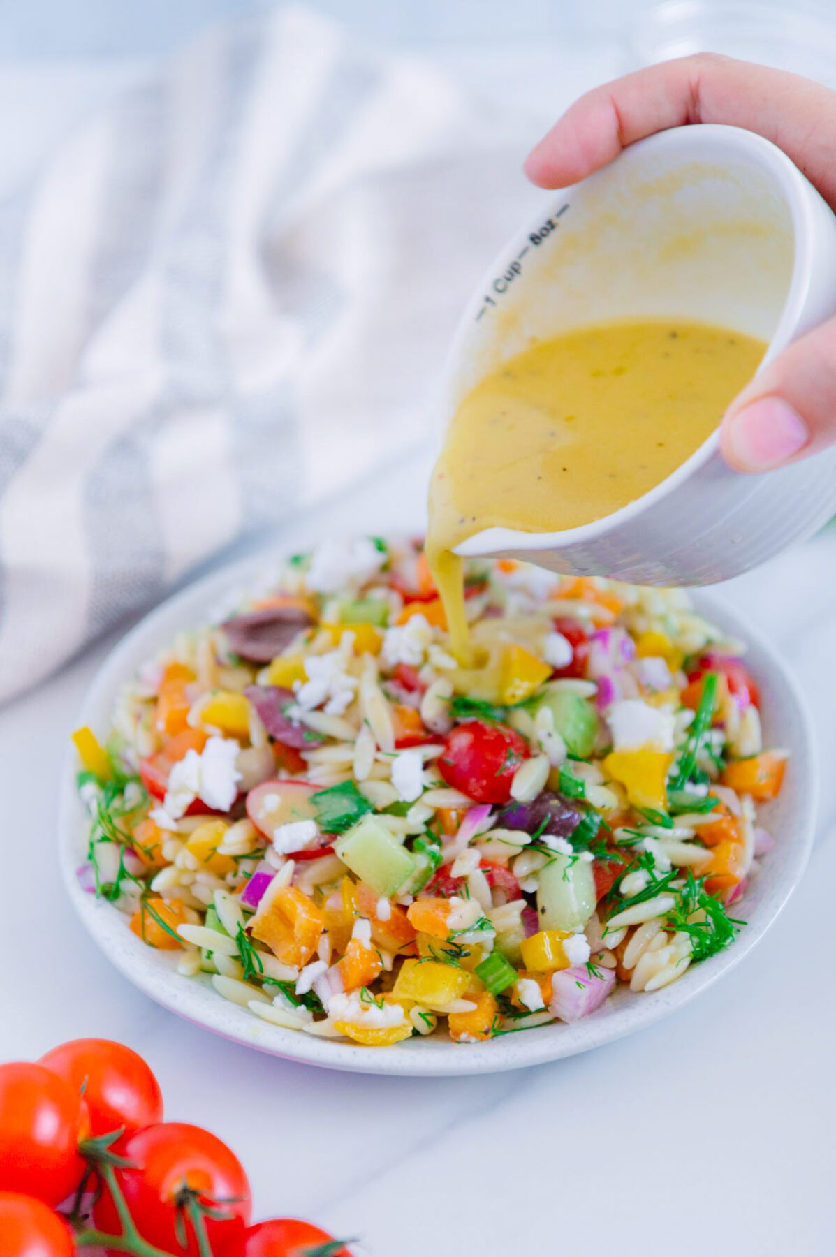 Greek Orzo Salad Dressing