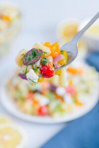 Bite of Greek Pasta Salad