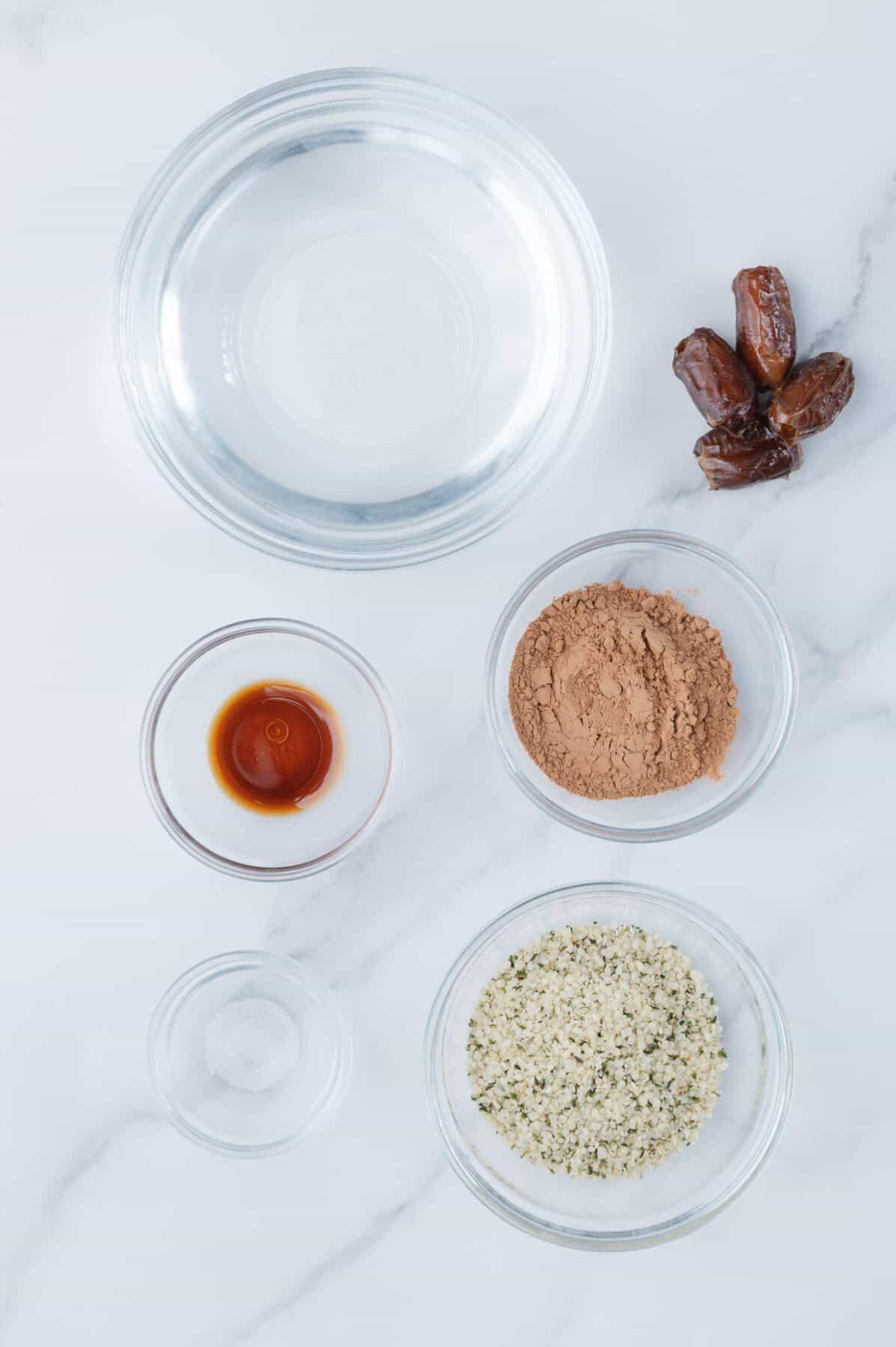 Hemp Chocolate Milk Ingredients