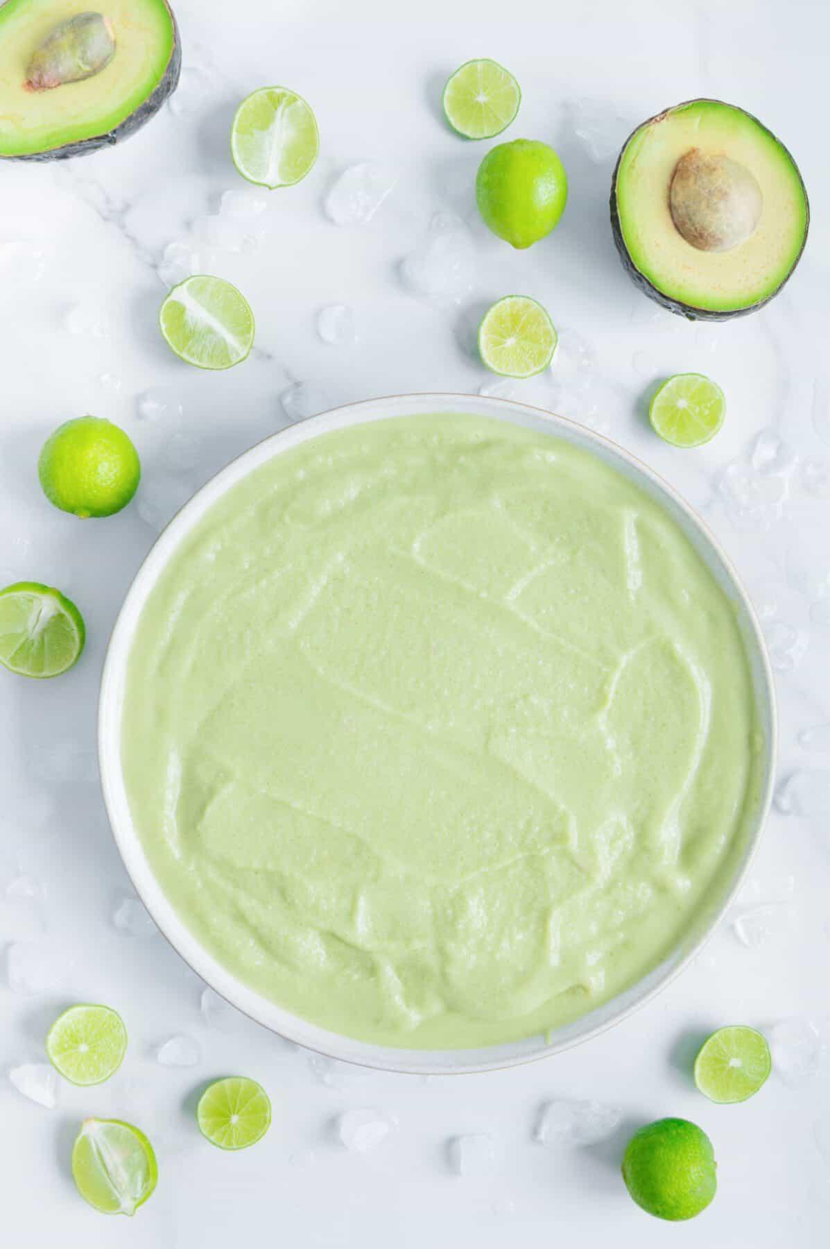 Easy Key Lime Pie Smoothie