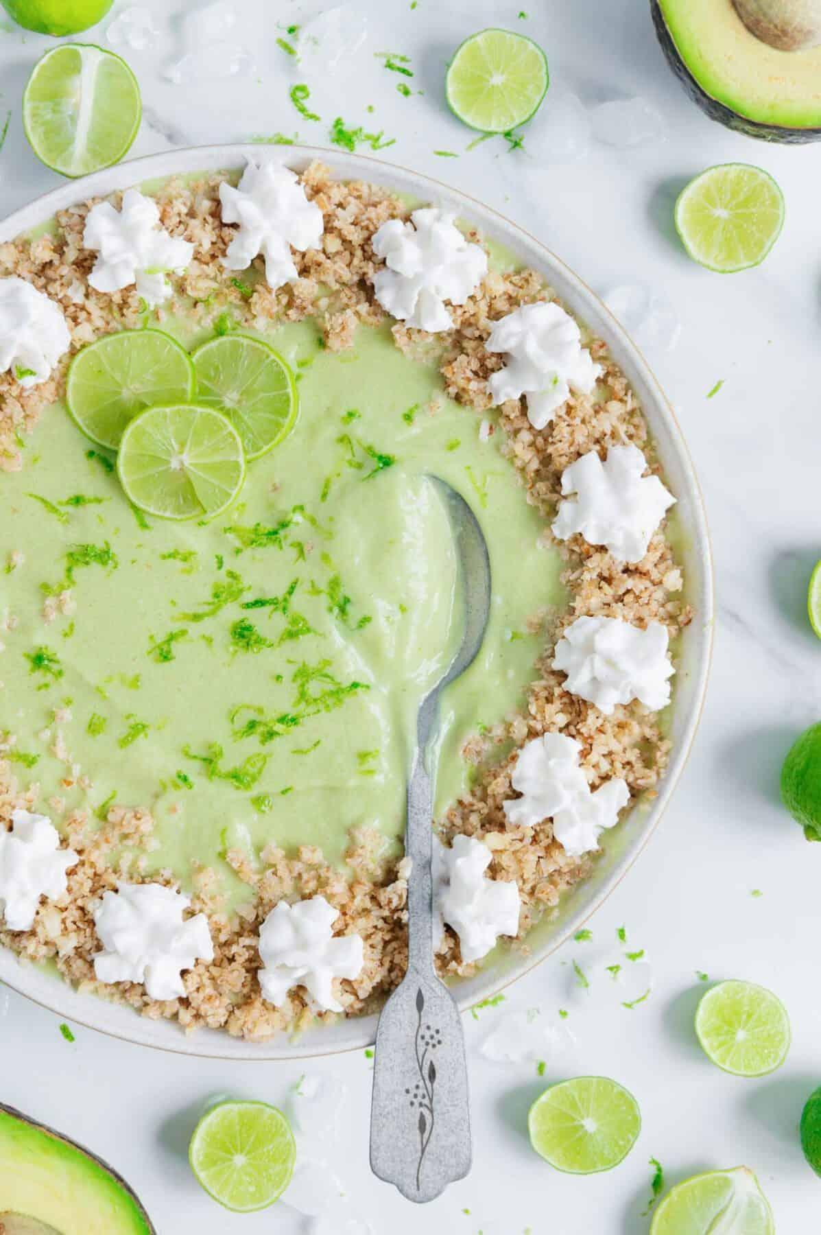 Vegan Key Lime Pie Smoothie