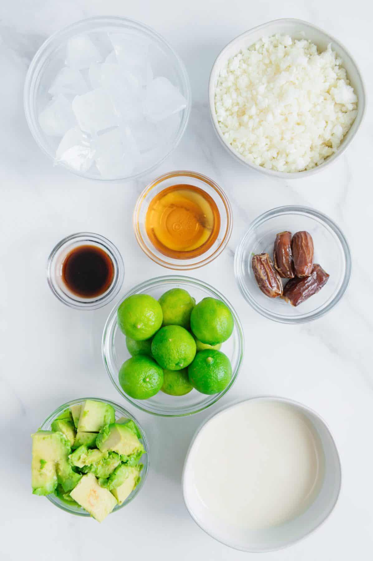 Key Lime Pie Smoothie Ingredients
