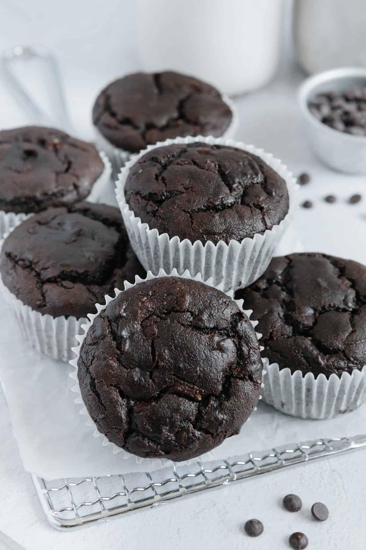 Nut-Free Chocolate Muffins