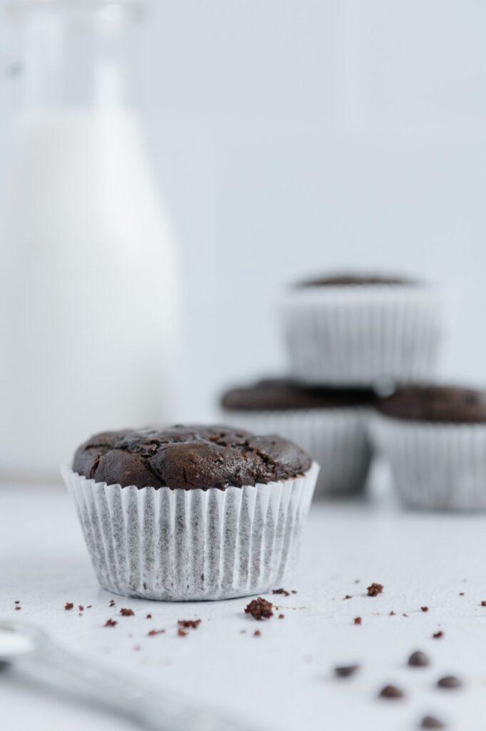 Easy Vegan Chocolate Muffins