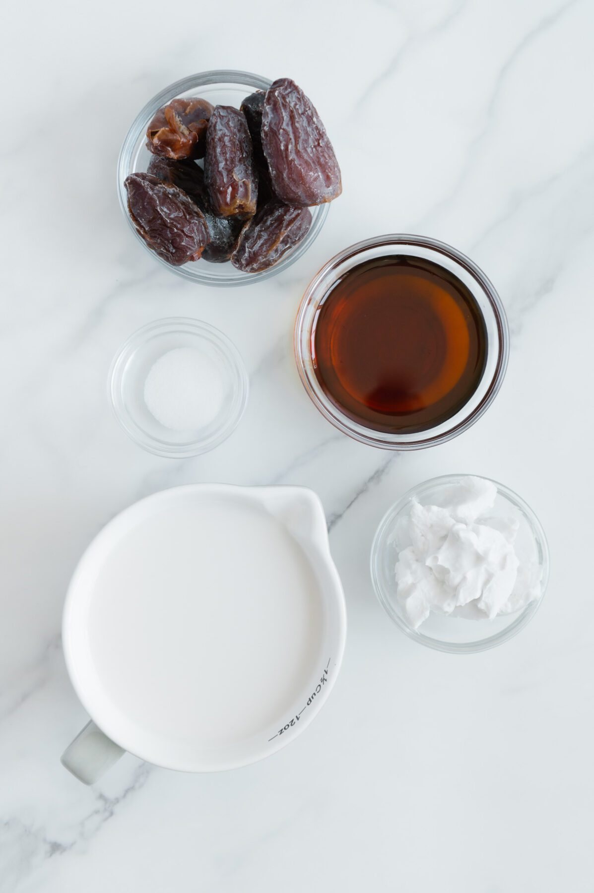 Vegan Caramel Ingredients