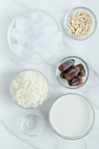 Peppermint Patty Smoothie Ingredients