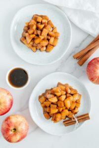 Sautéed Apples with Cinnamon
