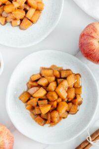 Vegan Cinnamon Apples