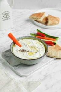 Creamy Vegan Feta Dip
